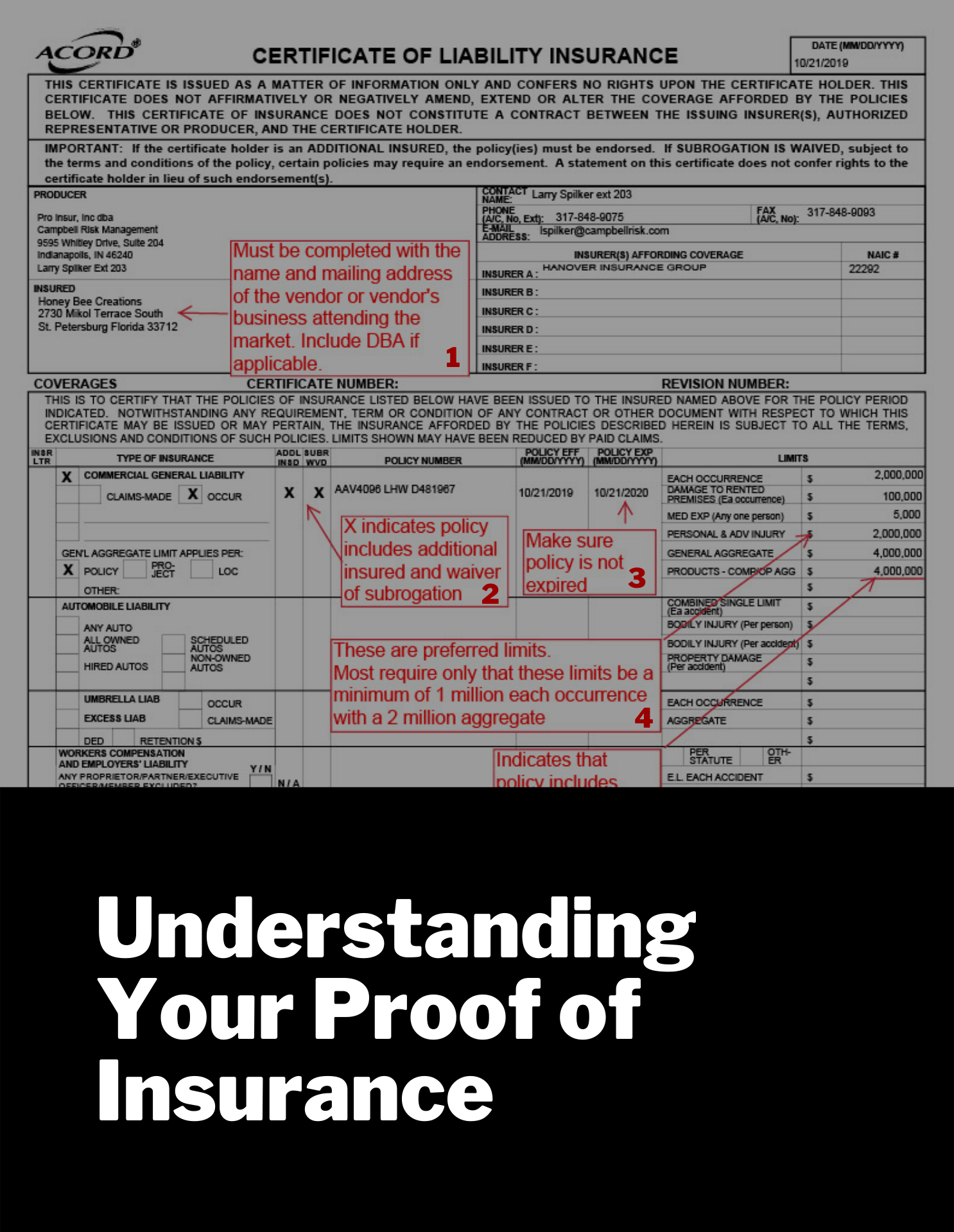 How to Read Your Certificate of Liability Insurance ...